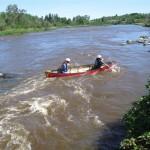 Abitibiwinni - Berce par l'Harricana - canot - rapides (6)